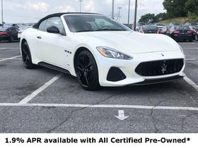 2018 Maserati GranTurismo S Convertible:11 car images available
