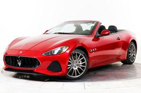 2019 Maserati GranTurismo S Convertible:13 car images available