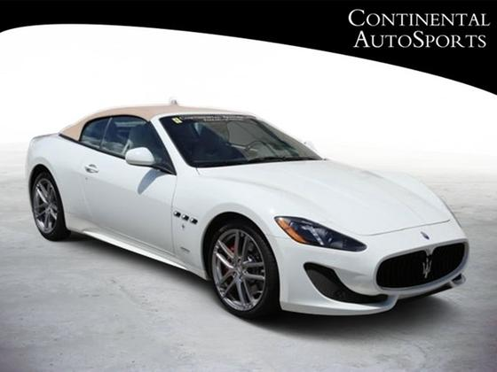 2017 Maserati GranTurismo Sport:20 car images available