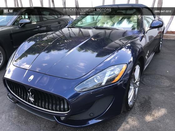 2015 Maserati GranTurismo Sport:8 car images available