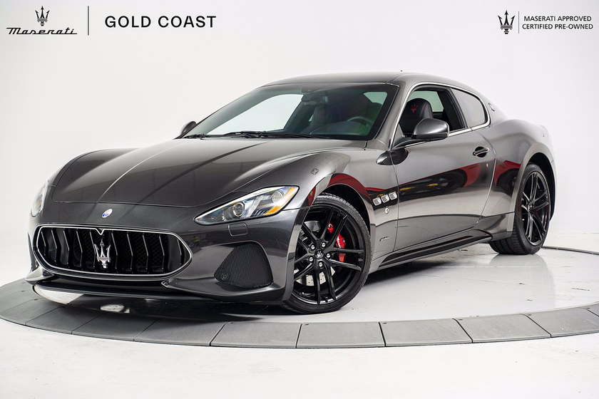 2018 Maserati GranTurismo Sport:21 car images available