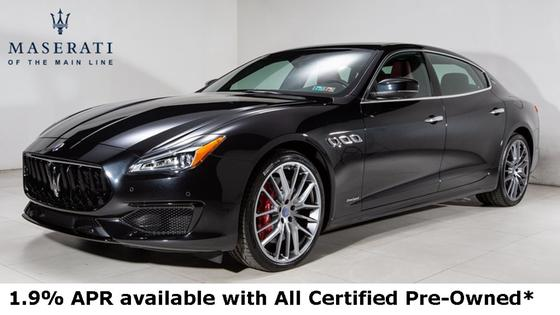 2018 Maserati Quattroporte GTS GranSport:23 car images available
