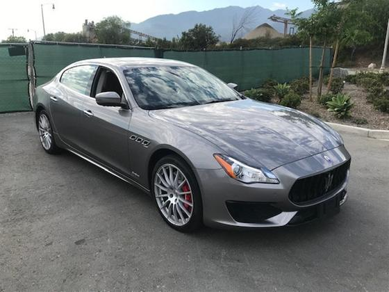 2017 Maserati Quattroporte GTS GranSport:7 car images available