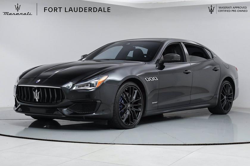2018 Maserati Quattroporte GTS GranSport:24 car images available