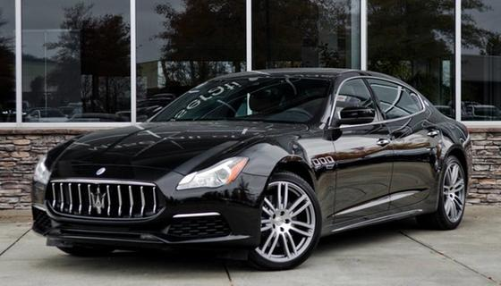 2017 Maserati Quattroporte S GranLusso:24 car images available