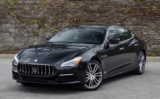 2018 Maserati Quattroporte S GranLusso:24 car images available