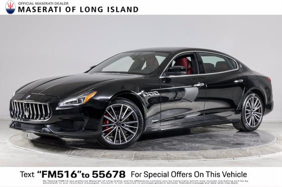 2019 Maserati Quattroporte S Q4 GranSport : Car has generic photo