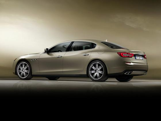 2014 Maserati Quattroporte S Q4 : Car has generic photo