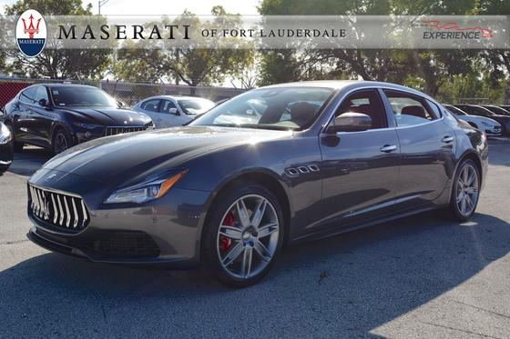 2018 Maserati Quattroporte S:12 car images available
