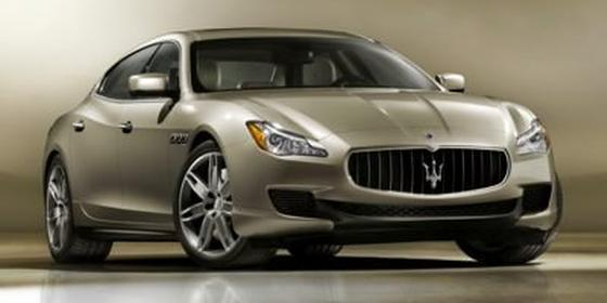 2019 Maserati Quattroporte SQ4 GranLusso : Car has generic photo