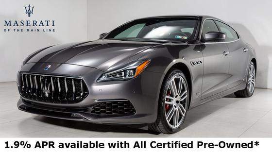 2018 Maserati Quattroporte SQ4 GranLusso:23 car images available