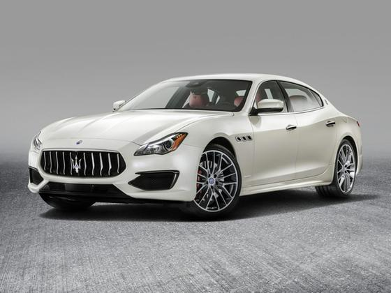 2017 Maserati Quattroporte SQ4 GranLusso : Car has generic photo