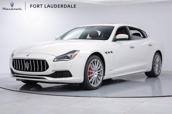 2021 Maserati Quattroporte SQ4 GranLusso:20 car images available
