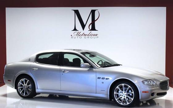 2007 Maserati Quattroporte Sport GT:24 car images available