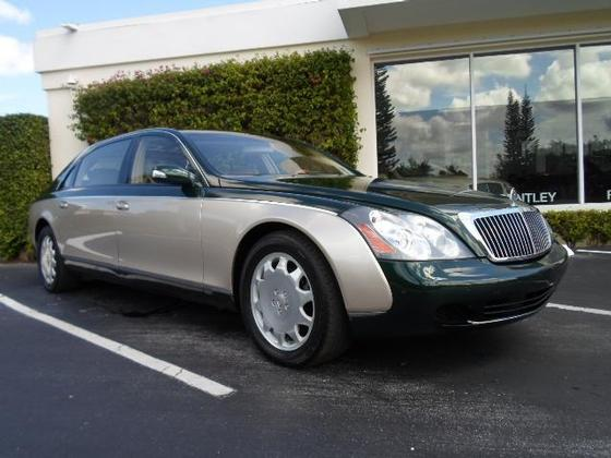 2004 Maybach  Type 62 :12 car images available