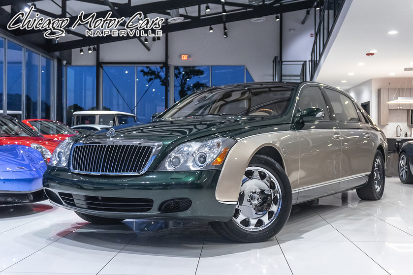 2004 Maybach  Type 62 :24 car images available