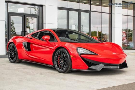 2018 McLaren 570GT Coupe:24 car images available
