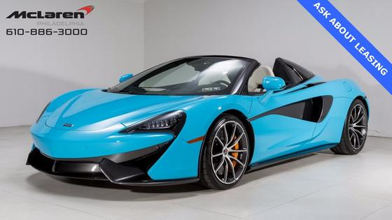 2018 McLaren 570S Spider:21 car images available