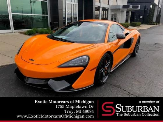 2019 McLaren 570S Spider:20 car images available