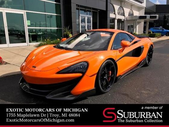 2020 McLaren 600LT Spider:20 car images available