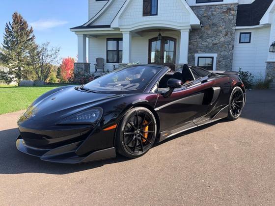 2020 McLaren 600LT Spider:13 car images available