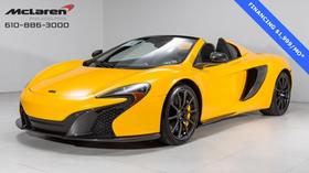2016 McLaren 650S Spider:22 car images available