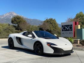 2016 McLaren 650S Spider:10 car images available