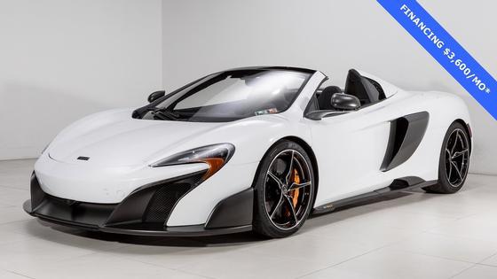 2016 McLaren 675LT Spider:17 car images available