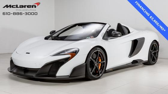2016 McLaren 675LT Spider:17 car images available