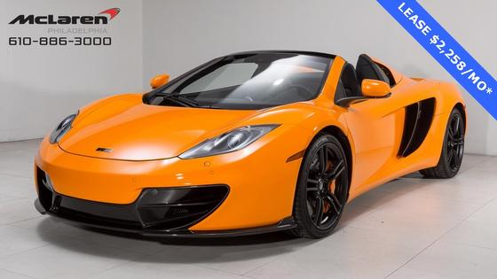 2014 McLaren MP4-12C Spider:20 car images available