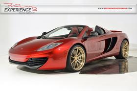 2014 McLaren MP4-12C Spider:24 car images available