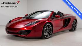 2013 McLaren MP4-12C Spider:22 car images available