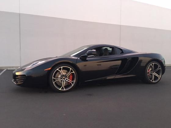 2014 McLaren MP4-12C Spider:13 car images available