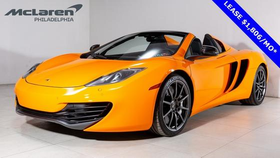 2014 McLaren MP4-12C Spider:21 car images available