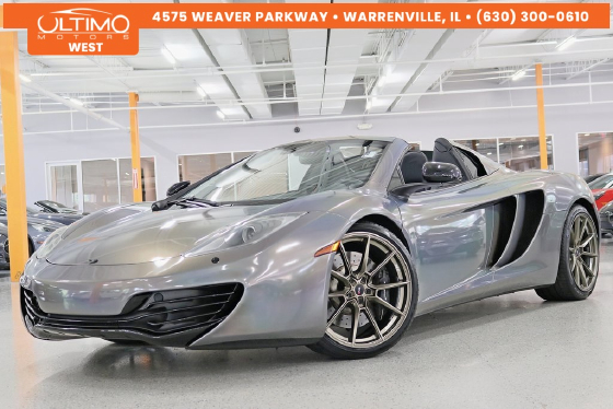 2013 McLaren MP4-12C Spider:6 car images available