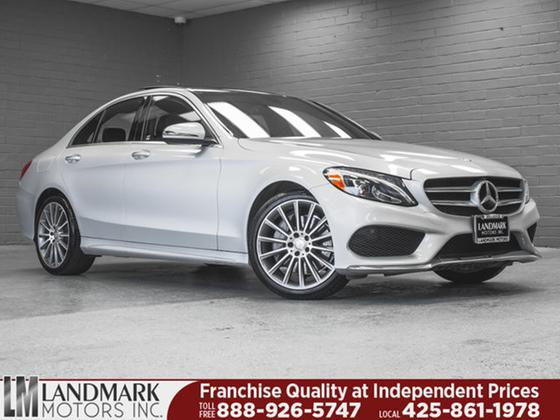 2016 Mercedes-Benz C-Class C300 4Matic Sport:24 car images available