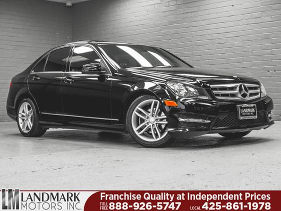 2012 Mercedes-Benz C-Class C300 4Matic Sport:24 car images available