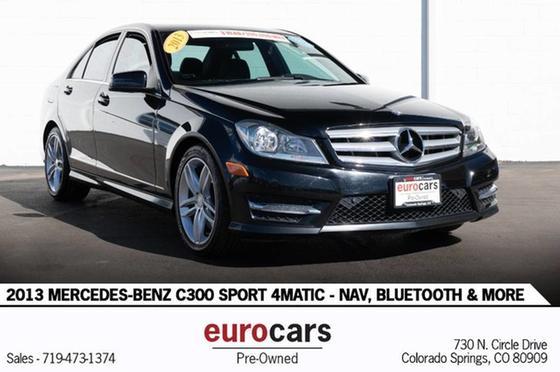 2013 Mercedes-Benz C-Class C300 4Matic Sport:24 car images available