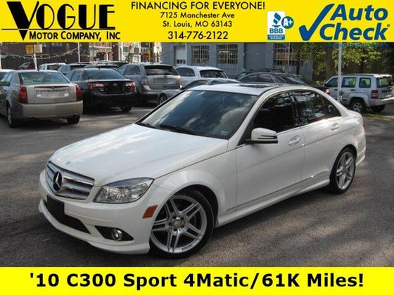 2010 Mercedes-Benz C-Class C300 Sport:24 car images available