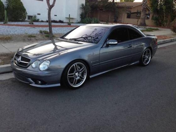 2005 mercedes benz cl class cl55 amg for sale in north hollywood ca exotic car list. Black Bedroom Furniture Sets. Home Design Ideas