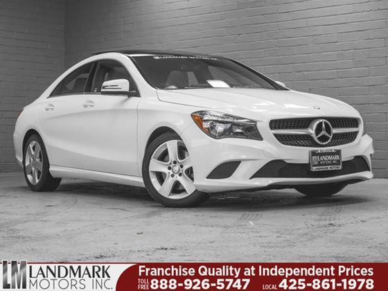 2016 Mercedes-Benz CLA-Class CLA250:24 car images available