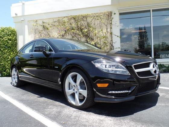 2012 Mercedes-Benz CLS-Class CLS550:12 car images available