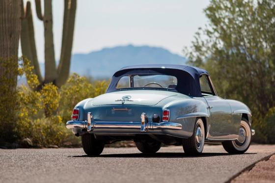 1957 Mercedes-Benz Classics 190SL:24 car images available