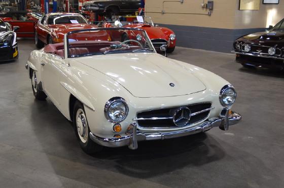 1960 Mercedes-Benz Classics 190SL:22 car images available