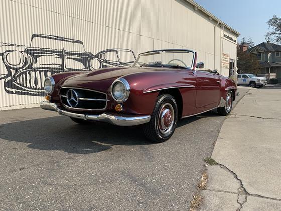 1962 Mercedes-Benz Classics 190SL:9 car images available