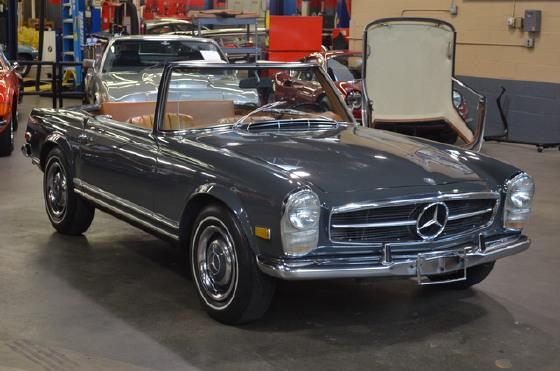 1967 Mercedes-Benz Classics 250 SL Convertible:24 car images available