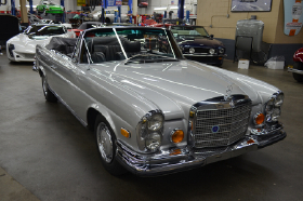 1970 Mercedes-Benz Classics 280 SE Cabriolet:12 car images available