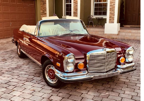 1971 Mercedes-Benz Classics 280 SE Cabriolet:6 car images available