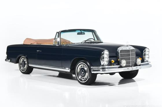 1968 Mercedes-Benz Classics 280 SE:24 car images available