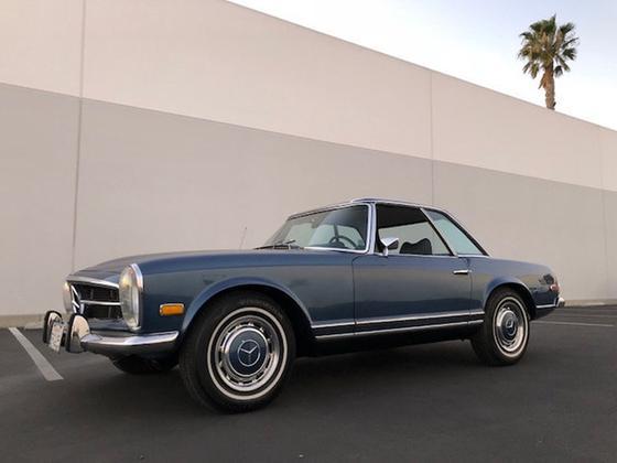 1970 Mercedes-Benz Classics 280 SL:11 car images available